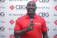 CBG manager, Daniel Addo
