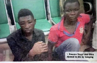 Kwame Dogyi and Obio Akwasi have been sentenced to death by hanging