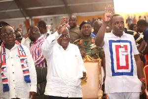 12232019100000 I4ep276gfb 20 President Nana Addo Dankwa Akufo Addo With Mr Freddy Blay Left Chairman