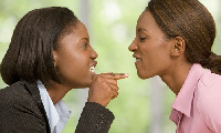 File Photo:Two women arguing