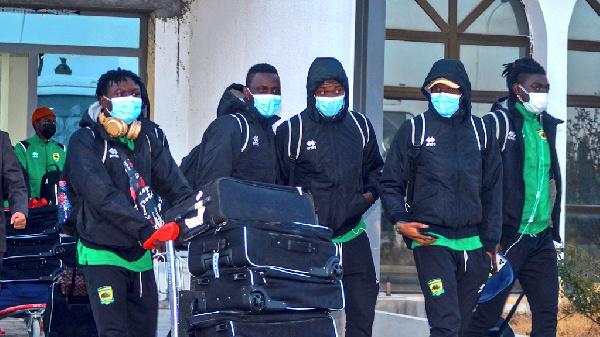 2021 Caf Confederations Cup: Asante Kotoko arrive in Algiers ahead of ES Setif tie on Sunday