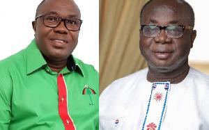 Samuel Ofosu-Ampofo and Freddie Blay