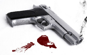 Gun And Blood Suicide 635x406