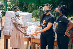 Menaye Donkor Muntari, Tracy Owusu Addo team up to 'End Period Poverty' in Ghana