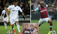 Andre Ayew wins the 'brotherly' clash