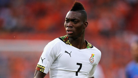 Christian Atsu hopes he can win a trophy with the Black Stars at this year's AFCON