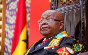 Professor Aaron Mike Oquaye, Speaker of Parliament, Ghana