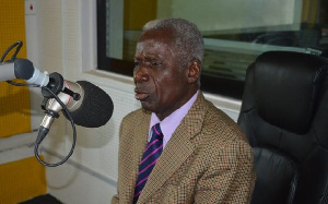 Brigadier General Joseph Nunoo-Mensah (Rtd), former Chief of Defence Staff of the Ghana Armed Forces