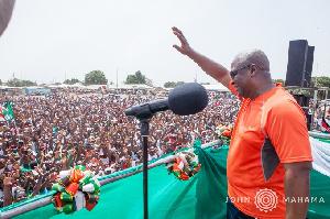 John Mahama Unity Walk New