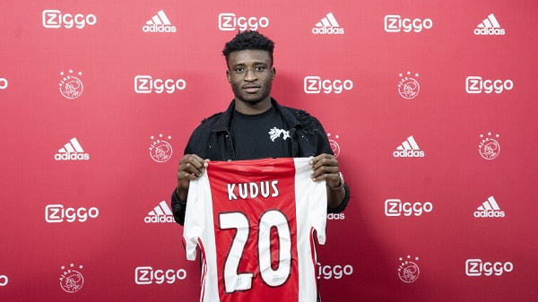 Ajax feels like a family to me - Mohammed Kudus