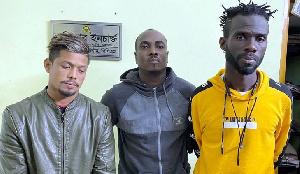 Frank Twum and Richard Dzifa were arrested for drug peddling