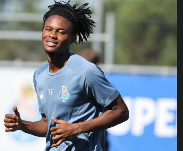 Ghanaian youngster Kelvin Boateng starts training at FC Porto