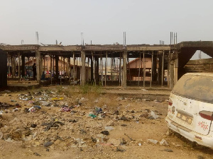 The abandoned uncompleted market