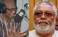 Major (Rtd.) Osahene Boakye Gyan and Former President Jerry John Rawlings
