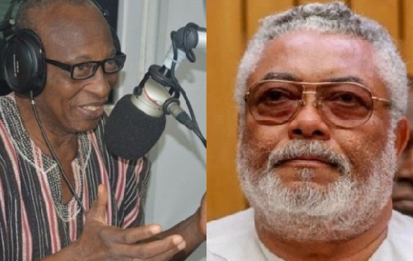 I'll not be surprised if Rawlings goes mad before he dies - Boakye Gyan