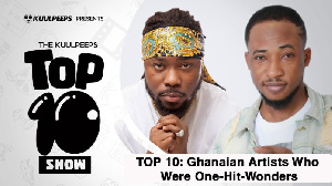 Kuulpeeps list of one-hit artiste in Ghana