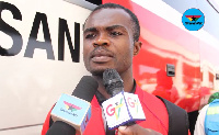 Captain of Asante Kotoko Amos Frimpong