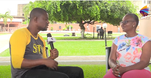 Janet Korley was speaking to host, DJ Nyaami