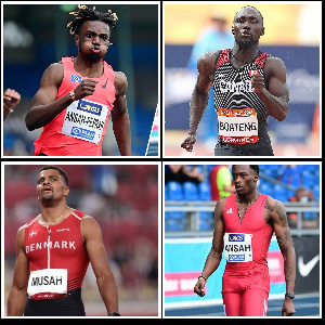 A lot of athletes of Ghanaian descent have been seen competing for other countries