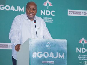 Flagbearer of the National Democratic Congress, John Dramani Mahama