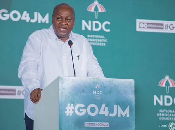We'll set up technical schools in all districts - Mahama
