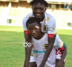 Kotokos Christopher Nettey And Teammate Moro Ibrahim Celebrate Their Qualification