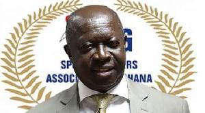 SWAG President Kwabena Yeboah