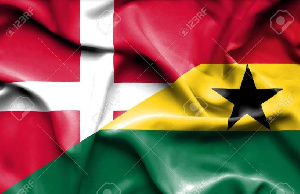 Ghana's delegation is in Denmark for an event