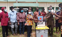Tarkwa Nsuaem Municipal Health Directorate presented with 2,700 doses of vaccine