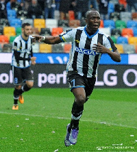 Agyemang Badu  is yet to play a game for Udinese this season