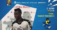 Christian MoTM. Ghana vs Uganda