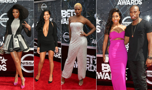 At BET Awards