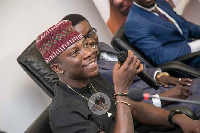 Stonebwoy was unveiled at the premises of Zylofon Media in Accra