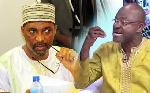 Mohammed Muntaka Mubarak and Kennedy Ohene Agyapong