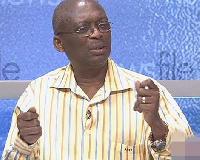 Editor-in-Chief of the New Crusading Guide, Kweku Baako