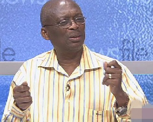 Managing Editor of the New Crusading Guide newspaper, Kweku Baako