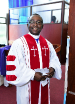 Rev. Dr. Moses Ohene Biney, Moderator of CGPC-NA