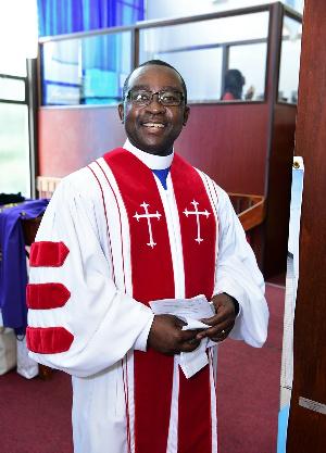Rev. Dr. Moses Ohene Biney, Moderator of CGPC-NA