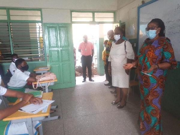 MCE inspects schools to ensure compliance to coronavirus protocols