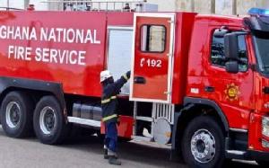 Ghana National Fire Service Car