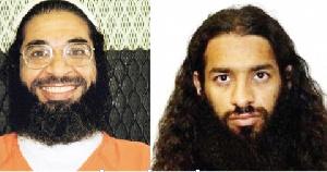 Khalid Muhammad Salih Al-Dhuby(L) and Mahmud Umar Muhammad Bin Atef