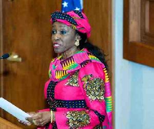 Nana Konadu Agyeman Rawlings is widow of JJ Rawlings