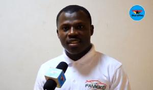 Kofi Agyapong, CEO, Fameko Taxi App