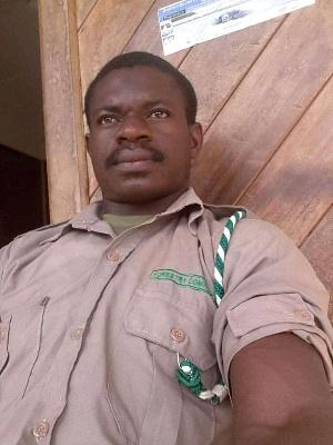 Benjamin Seidu, the forest guard