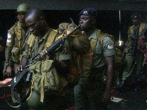 Army men have been urged to calm tempers following Captain Mahama's death