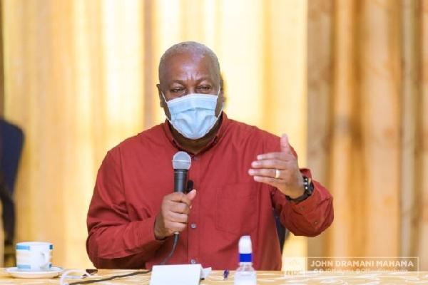 Alarming warning signs bode ill for 2020 polls – Mahama