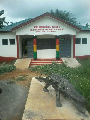 The Ave Dakpa Crocodile resort is fast becoming an attraction to many