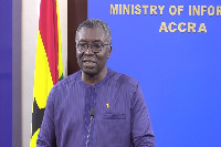 File Photo: Prof. Kwabena Frimpong-Boateng, Ghana's Minister for Environment