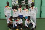 The U-12 girls won Silver medal and the U-12 boys won Gold medal