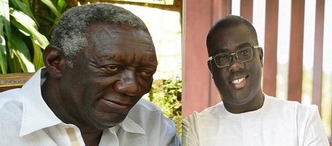 Former President John Agyekum Kufuor and NPP National Organiser, Sammy Awuku